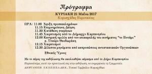 Κορυσχάδες πρόσκληση β 2017